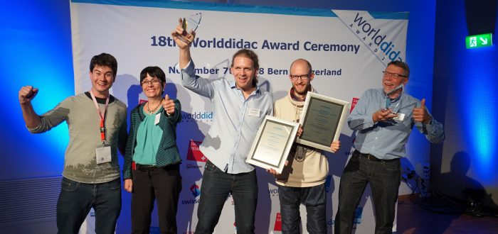 18th Worlddidac Award Ceremony 2 Awards