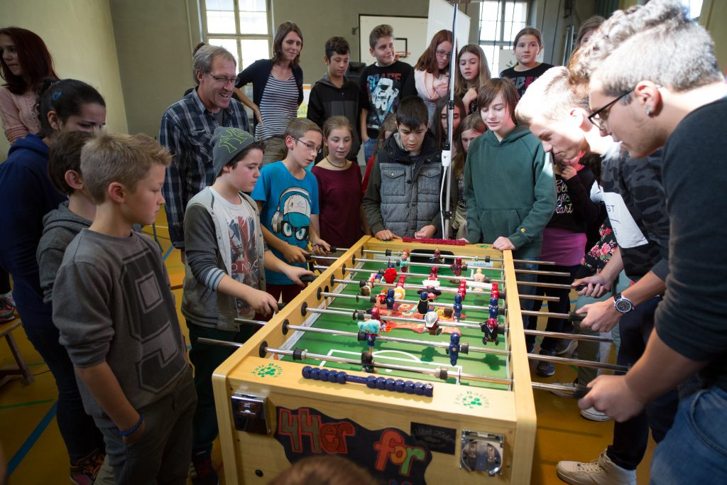 Schulhaus Rotacker Unfair Game